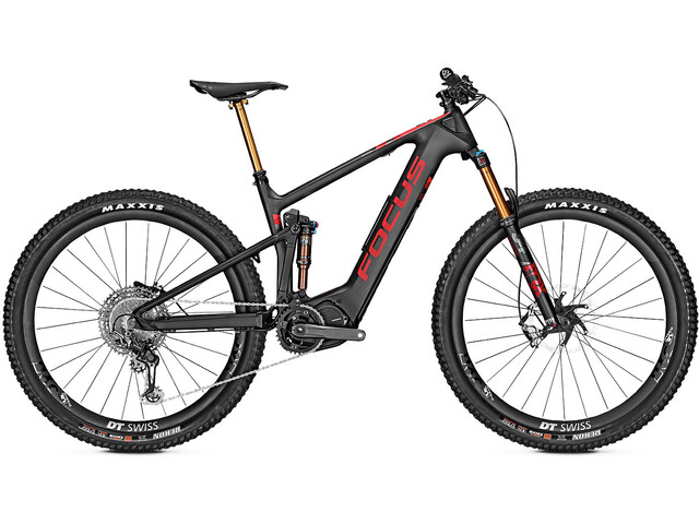 FOCUS Jam² 9.9 Nine E-MTB Full Suspension red/black